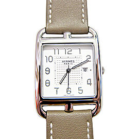 Hermes Etoupe Cape Cod Double Tour GM Watch