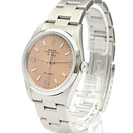 ROLEX Air king 14000 A Serial Steel Automatic Mens Watch