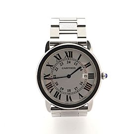 Cartier Ronde Solo de Cartier Quartz Watch Watch Stainless Steel 36