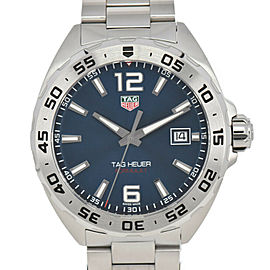 TAG HEUER Formula 1 WAZ1118.BA0875 Blue Dial Date Quartz Men's Watch
