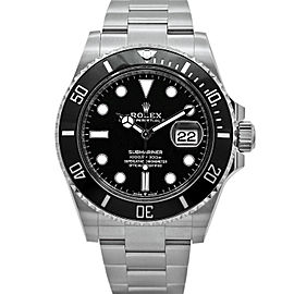 Unworn Rolex Submariner Black Dial 126610LN
