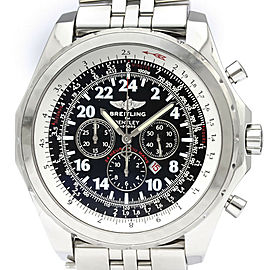 Polished BREITLING Bentley Le Mans LTD Edition Automatic Watch A22362