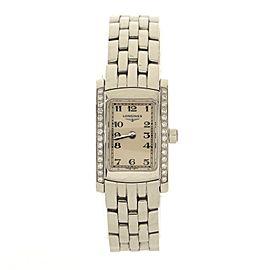 Longines DolceVita Quartz Watch Stainless Steel with Diamond Bezel 16