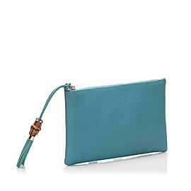 Dollar Calf Clutch Bag