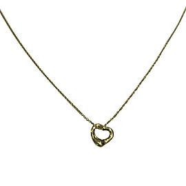 Tiffany & Co. Elsa Peretti 18K Yellow Gold Pendant Necklace
