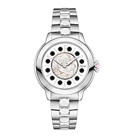 Fendi Timepieces IShine Small 12100S WHT 33mm Womens Watch