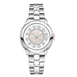 Fendi Timepieces IShine Medium 12100M WHT 38mm Womens Watch