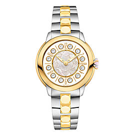 Fendi Timepieces IShine Medium 12110M WHT 38mm Womens Watch