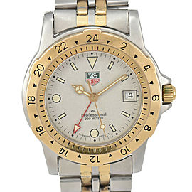 TAG HEUER Professional 200M GMT 155.706 Gray Dial Quartz Men's Watch