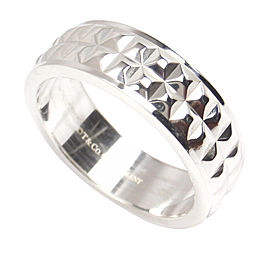 Tiffany & Co. Sterling Silver Moderne Mens Ring Size 10