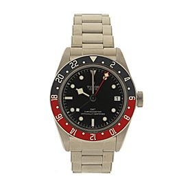Tudor Heritage Black Bay GMT Automatic Watch Stainless Steel 41
