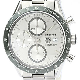TAG HEUER Carrera Chronograph Steel Automatic Watch CV2011