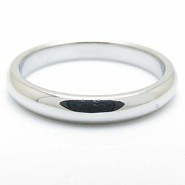 TIFFANY&CO 950 platinum Classic Band ring