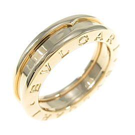 BVLGARI 18K Yellow Gold B.zero1 1 Band Ring
