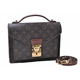 Louis Vuitton Monogram Monceau26 Hand Bag Briefcase M51187
