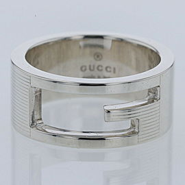 GUCCI Branded G 925 Silver Ring TBRK-293