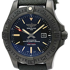 BREITLING Avenger Black Bird Titanium Automatic Mens Watch V17310