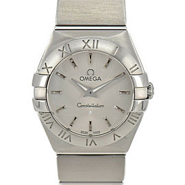 OMEGA Constellation Blush 123.10.24.60.02.001 Silver Dial Ladies Watch