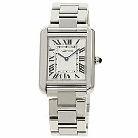 CARTIER W5200013 Tank solo Stainless Steel/Stainless Steel SM Watch TNN-2046