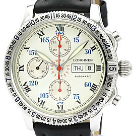 LONGINES Lindbergh Chronograph Automatic Mens Watch L2.618.4