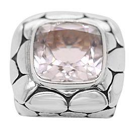 John Hardy Sterling Silver Batu Kali White Topaz Ring
