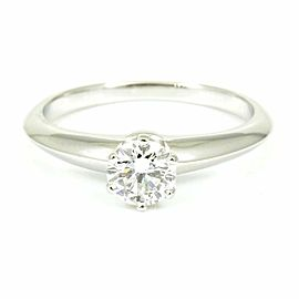 Tiffany & Co. 950 Platinum, Diamond Solitaire Ring CHAT-188