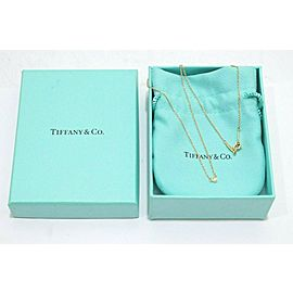Tiffany & Co. 18k Yellow Gold Peretti By The Yard Diamond Necklace