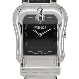 FENDI 3800G Celeria Stainless Steel/Leather Quartz Women's Watch