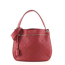 Louis Vuitton Spontini NM Handbag Monogram Empreinte Leather