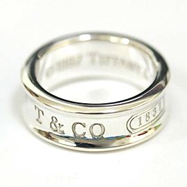 Tiffany & Co. Silver 1837 Narrow Ring