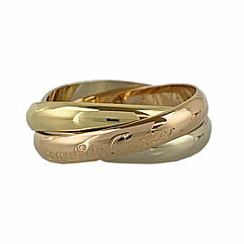 CARTIER 18k Gold Trinity ring CHAT-1003