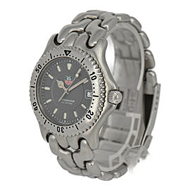 TAG HEUER S/el WG1113-0 Professional 200M gray Dial Quartz Men's Watch