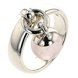TIFFANY & Co. Silver/Rose Door knocker Ring