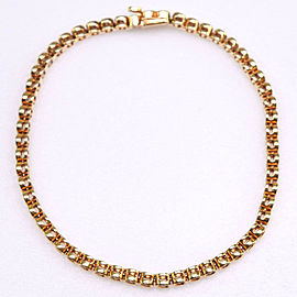 Tennis Bure Rubbed T Ble Rubbed T K18 yellow gold/diamond Women