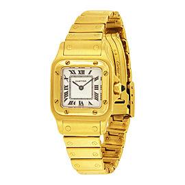 Cartier Santos 1453 24mm Womens Watch