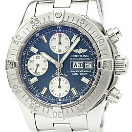 Polished BREITLING Stainless Steel Chrono Super Ocean watch HK-2012