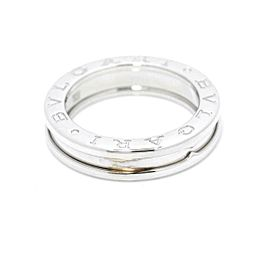 BVLGARI 18K White Gold B-zero1 XS Ring