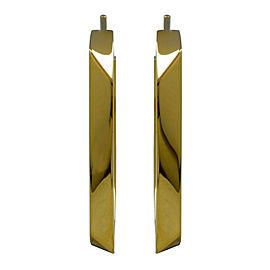 Tiffany & Co. 18K Yellow Gold Hoop Earrings