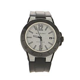 Bvlgari Diagono Magnesium Automatic Watch Ceramic and Rubber 41