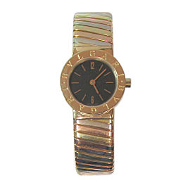 Bulgari Tubogas BB232T/P91946 23mm Womens Cuff Style Watch