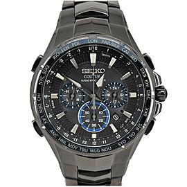 SEIKO Coachula SSG021 Chronograph black Dial Quartz Men's Watch