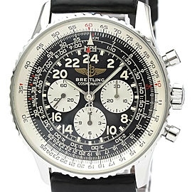 Polished BREITLING Navitimer Navitimer Cosmonaute Mens Watch A12322