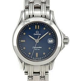 OMEGA Seamaster 120M Blue Dial Quartz Ladies Watch
