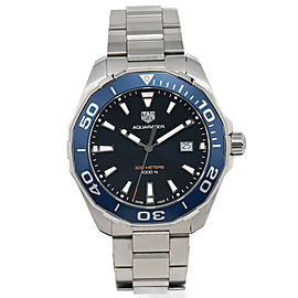 TAG HEUER Aqua racer 300m WAY101C.BA0746 Blue Dial Quartz Men's Watch