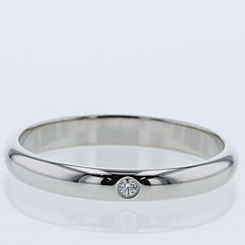 CARTIER Platinum/diamond Wedding Ring