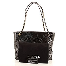 Chanel Paris-31 Rue Cambon Timeless CC Shopping Tote Quilted Shiny Aged Calfskin Medium