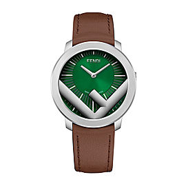 Fendi Timepieces Run Away Man F710018021 41 mm Mens Watch
