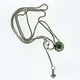 David Yurman Chatelaine Pendant Necklace with Prasiolite