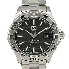 TAG HEUER Aqua racer WAP2010 Caliber 5 black Dial Automatic Men's Watch