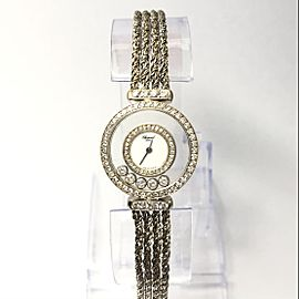 CHOPARD HAPPY DIAMONDS Quartz 18K White Gold Ladies Watch